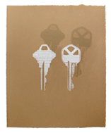 keys ~ ghost keys  print by Roy Anthony Shabla